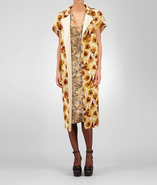 Cashmere Tulip Print Coat