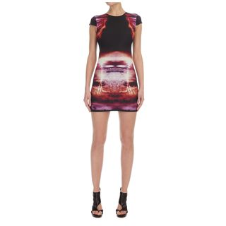 McQ, Dress, Lightening Cap Sleeve Dress