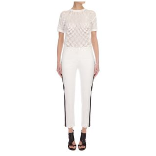 McQ, Pants & Jeans, Monochrome Cropped Pants