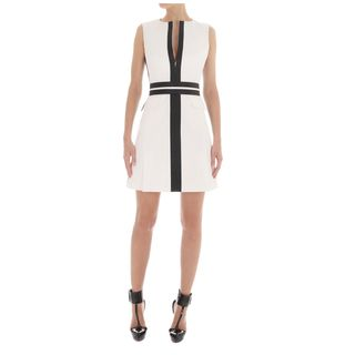 McQ, Dress, Tailored Monochrome Panel Dress