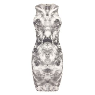 McQ, Dress, Mirrored Iris Mini-Dress