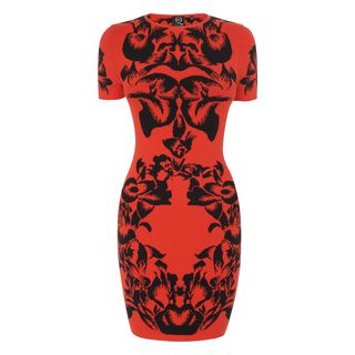 McQ, Dress, Iris Jacquard Mini-Dress