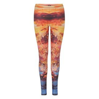 McQ, Leggings, Mineral Print leggings