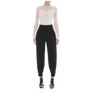McQ, Knitwear, Sheer And Solid Top