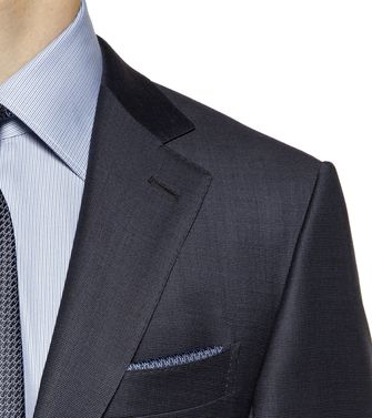 ERMENEGILDO ZEGNA: Suit Steel grey - 49133260XP