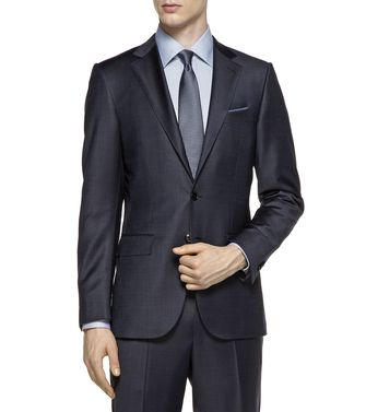 ERMENEGILDO ZEGNA: Suit Black - 49133260XP