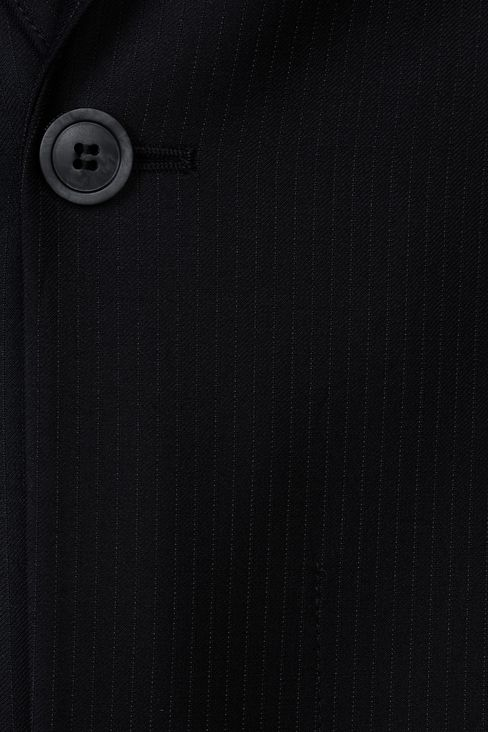 PINSTRIPE SUIT IN VIRGIN WOOL : One button suits Men by Armani - 4