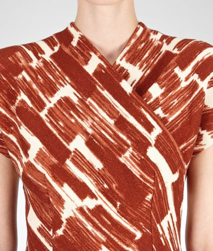 BOTTEGA VENETA - Crepe Brushes Print Dress