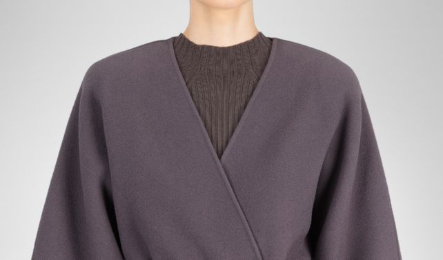 BOTTEGA VENETA - Double Cashmere Coat