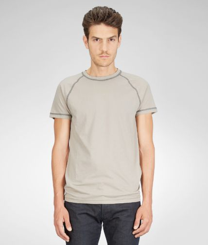 BOTTEGA VENETA - Light Cotton Merinos Wool T-Shirt