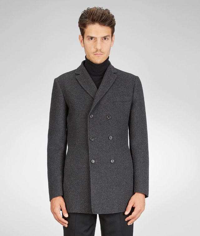 Dark Matita Double Cashmere Jacket