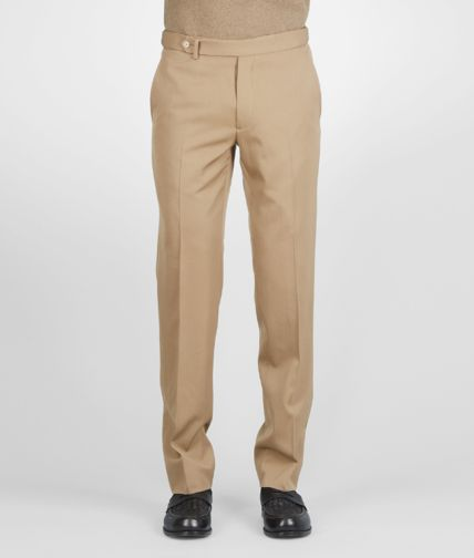 BOTTEGA VENETA - Washed Wool Gabardine Pant