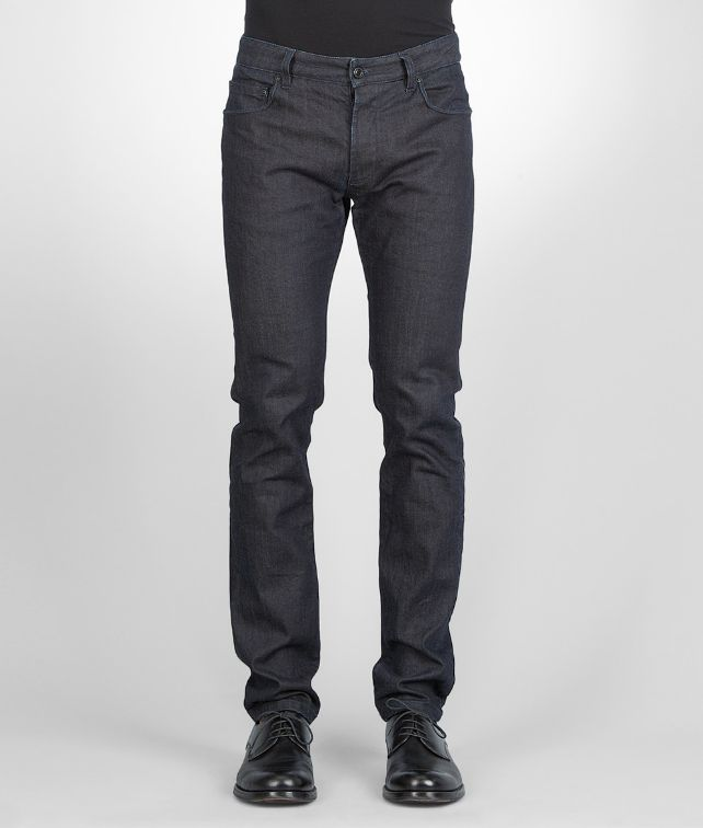 Dark Navy Tapered Denim