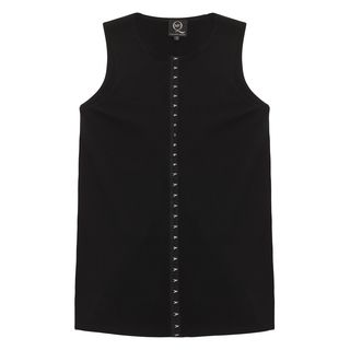 McQ, Knitwear, Hook And Eye Sleeveless Top