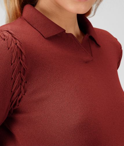 BOTTEGA VENETA - Soft Cashmere Polo Sweater
