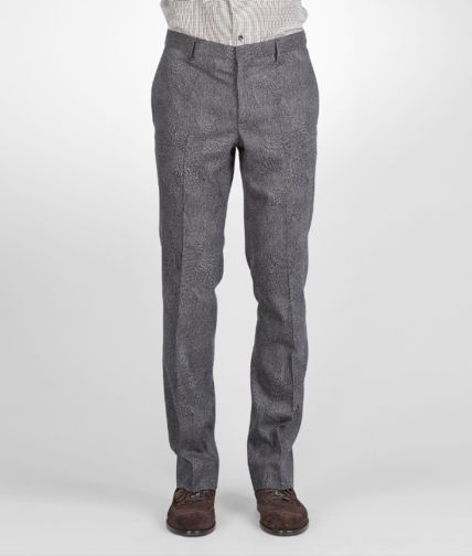 BOTTEGA VENETA - Optical Wool Flannel Pant