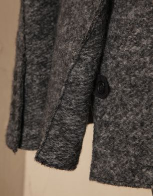 jacke ohne schulterpolster aus filzwolle logo dolce. Black Bedroom Furniture Sets. Home Design Ideas