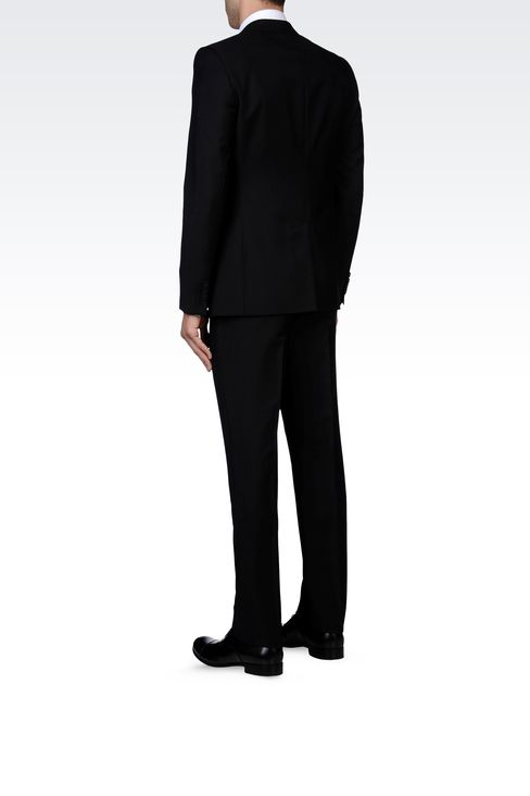 TWO-BUTTON SUIT IN MOHAIR WOOL: Two buttons suits Men by Armani - 3