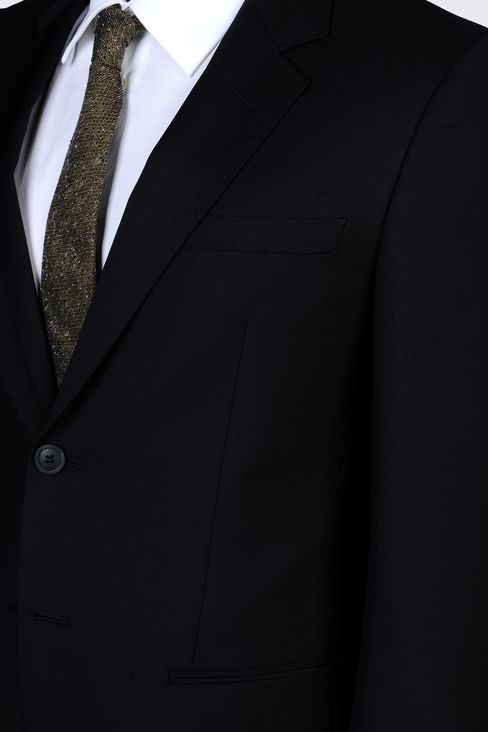 TWO-BUTTON SUIT IN MOHAIR WOOL: Two buttons suits Men by Armani - 4