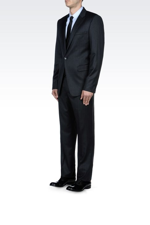 Suits: One button suits Men by Armani - 2