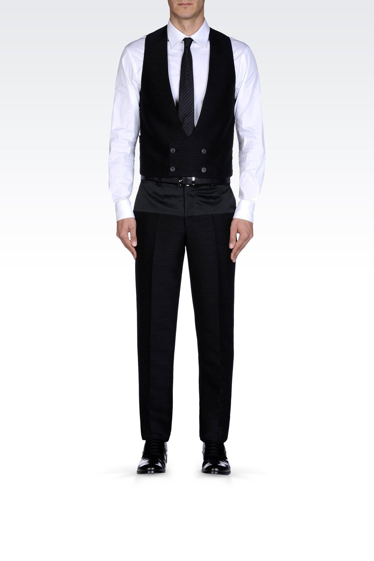 Suits: Gilets Men by Armani - 0