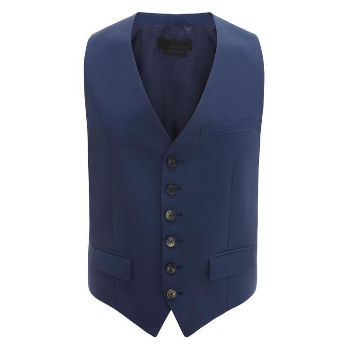 Alexander McQueen, Wool Mohair Waistcoat