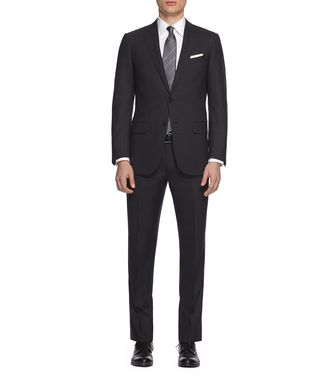 ERMENEGILDO ZEGNA: Suit Black - 49136405JC