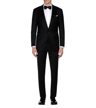 ERMENEGILDO ZEGNA: Suit Black - 49136406FB