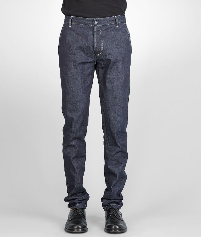 Dark Navy Row Indigo Denim