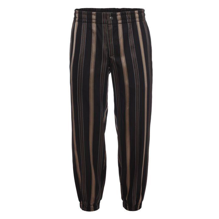 Alexander McQueen, Stripe Jacquard Cuffed Trouser