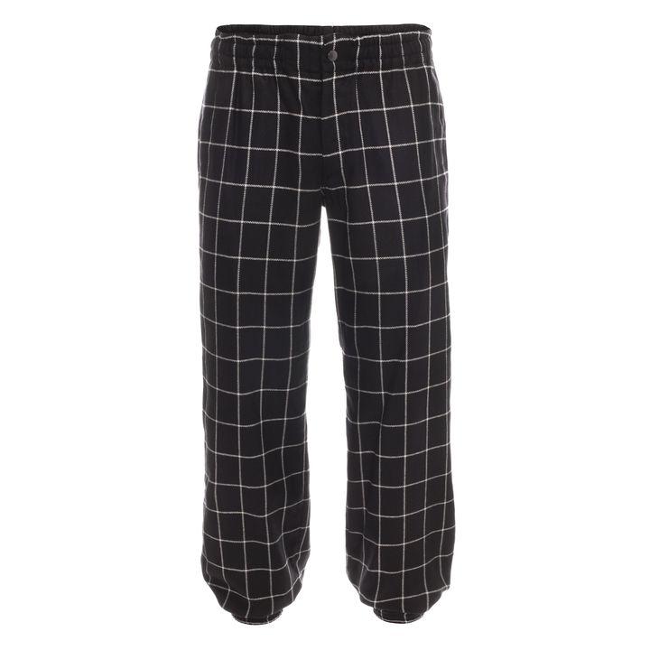 Alexander McQueen, Silk Check Cuff Trouser