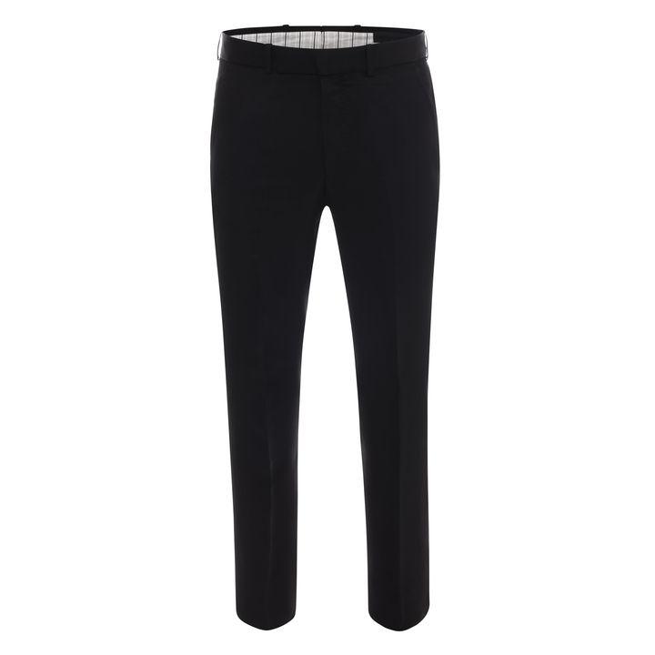 Alexander McQueen, Cotton Front Pleat Trouser