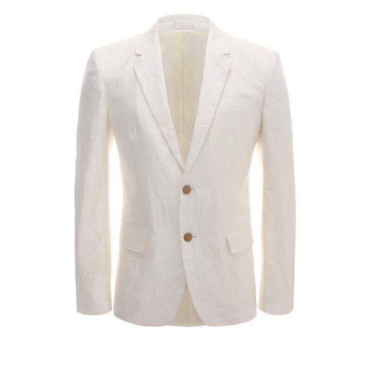 Alexander McQueen, 2-Button Silk Suit Jacket