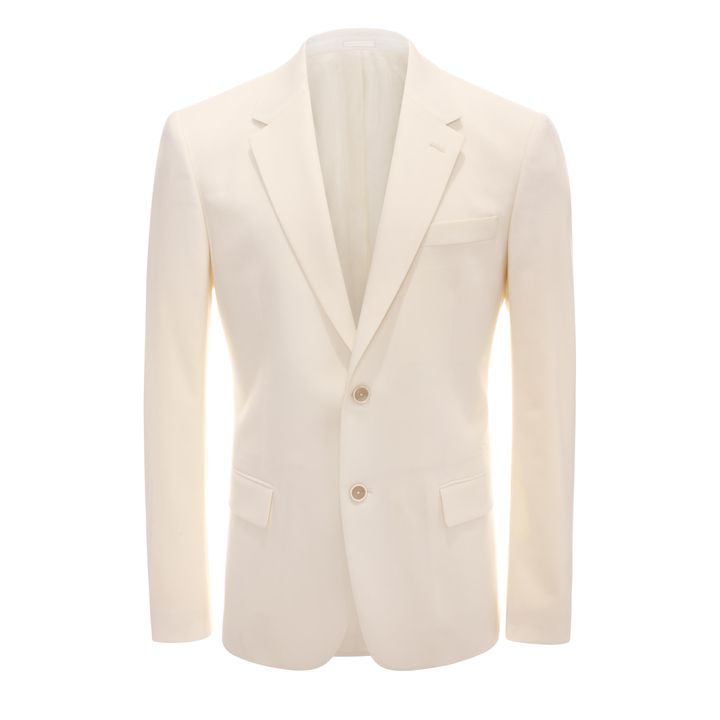 Alexander McQueen, 2-Button Wool Suit Jacket