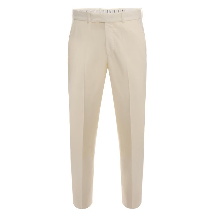 Alexander McQueen, Wool Front Pleat Trouser