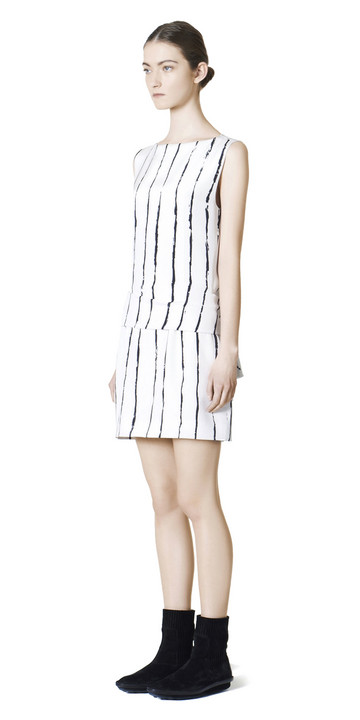 Balenciaga Edition Stripes Drapy Dress