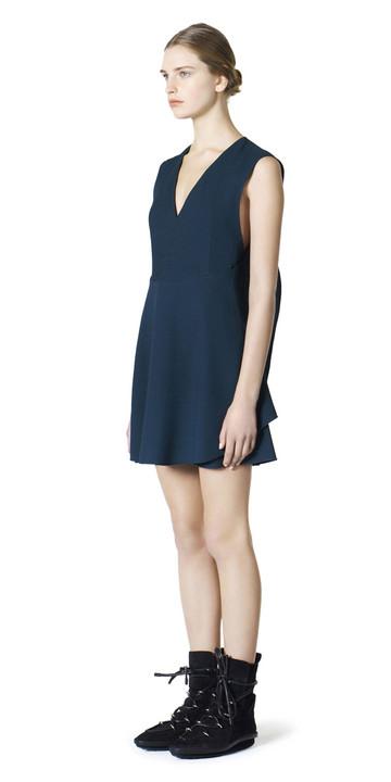 Balenciaga Fluid Wing Dress