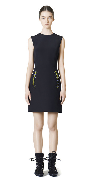 Balenciaga Shoe Lace Dress