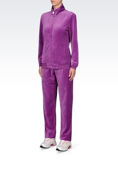 CHENILLE TRACKSUIT: Sweatsuits Women by Armani - 3