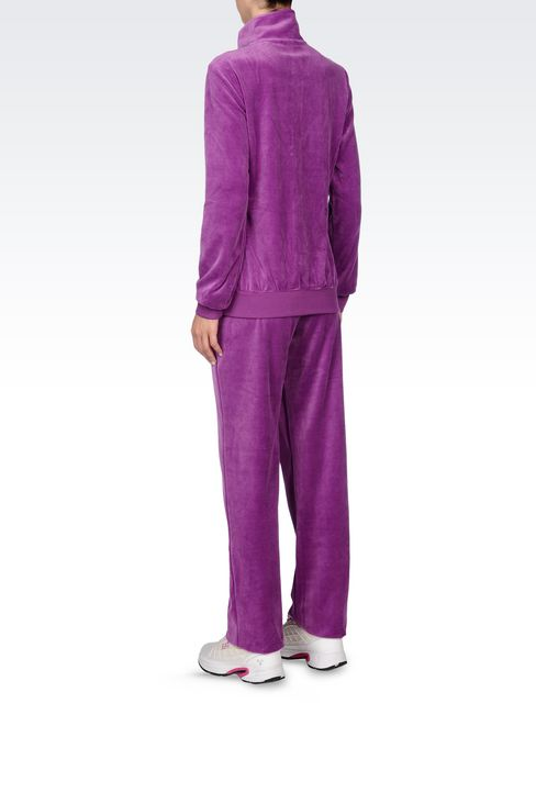 CHENILLE TRACKSUIT: Sweatsuits Women by Armani - 4
