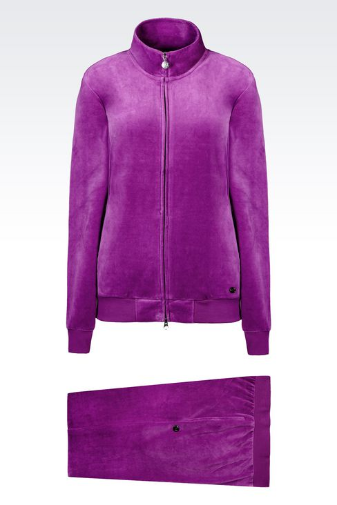 CHENILLE TRACKSUIT: Sweatsuits Women by Armani - 1