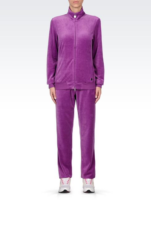 CHENILLE TRACKSUIT: Sweatsuits Women by Armani - 2