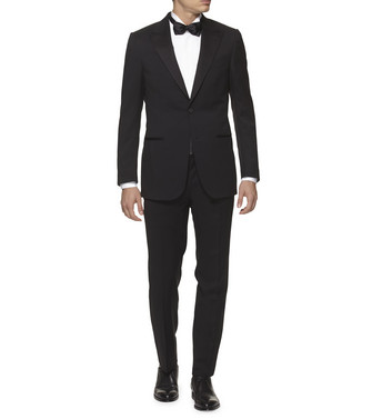 ERMENEGILDO ZEGNA: Suit Black - 49142856EQ