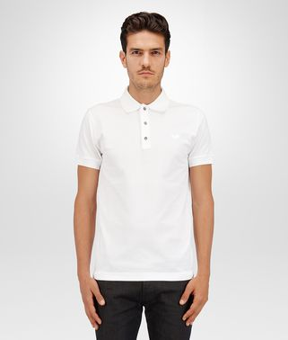 POLO IN BIANCO PIQUET