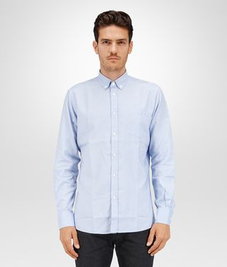 SHIRT IN LIGHT BLUE OXFORD COTTON