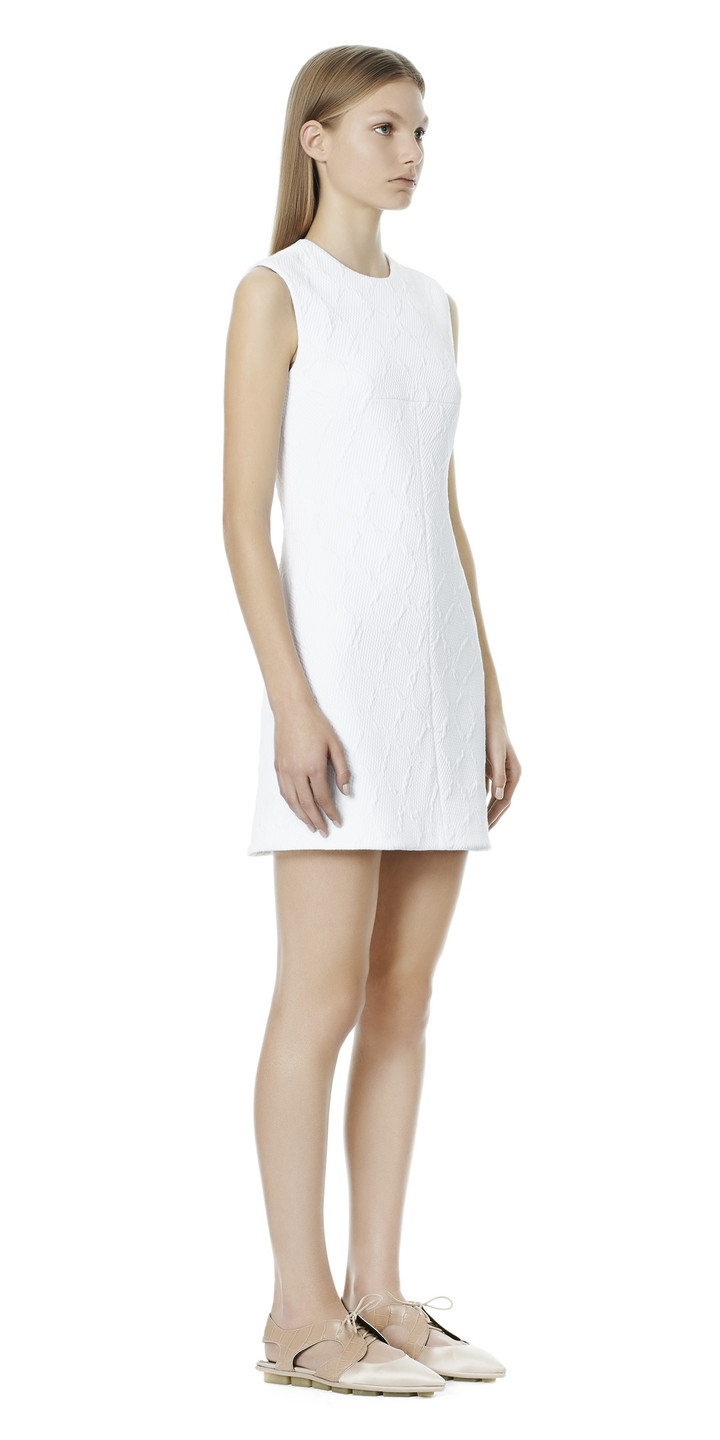 Balenciaga T Line Sleeveless Dress
