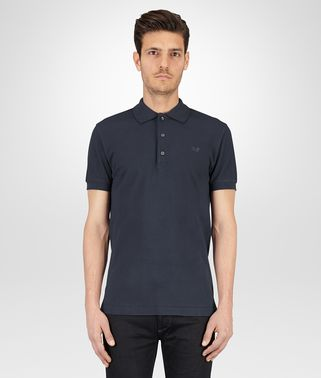 POLO AUS PIQUÉ IN DARK NAVY