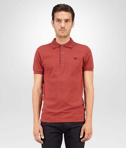 POLO IN RUSSET PIQUET