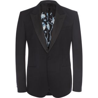 ALEXANDER MCQUEEN, Tailored Jacket, Tuxedo Jacket