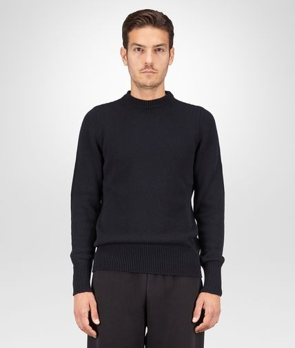 SWEATER IN DARK NAVY CASHMERE